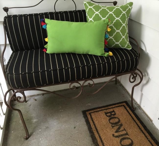 Side Porch door mat
